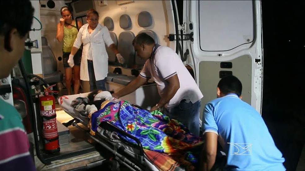 Pelo menos 15 pessoas ficaram feridas em acidente na MA-303 — Foto: Reprodução/TV Mirante