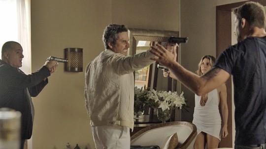 Final de 'A Regra do Jogo': Romero, Juliano, Atena e Zé Maria travam embate mortal