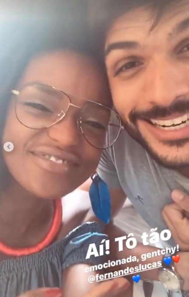 Nayara e Lucas (Foto: Reprodução / Instagram)