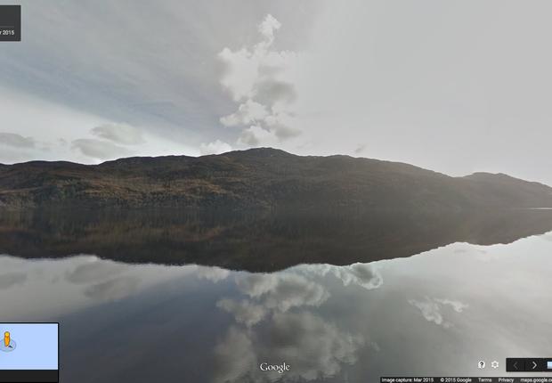 Lago Ness (Foto: Divulgação/ Google)