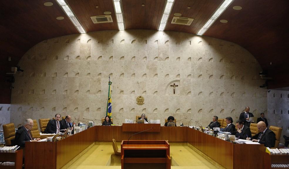 Plenário do Supremo Tribunal Federal (Foto: Rosinei Coutinho/SCO/STF)